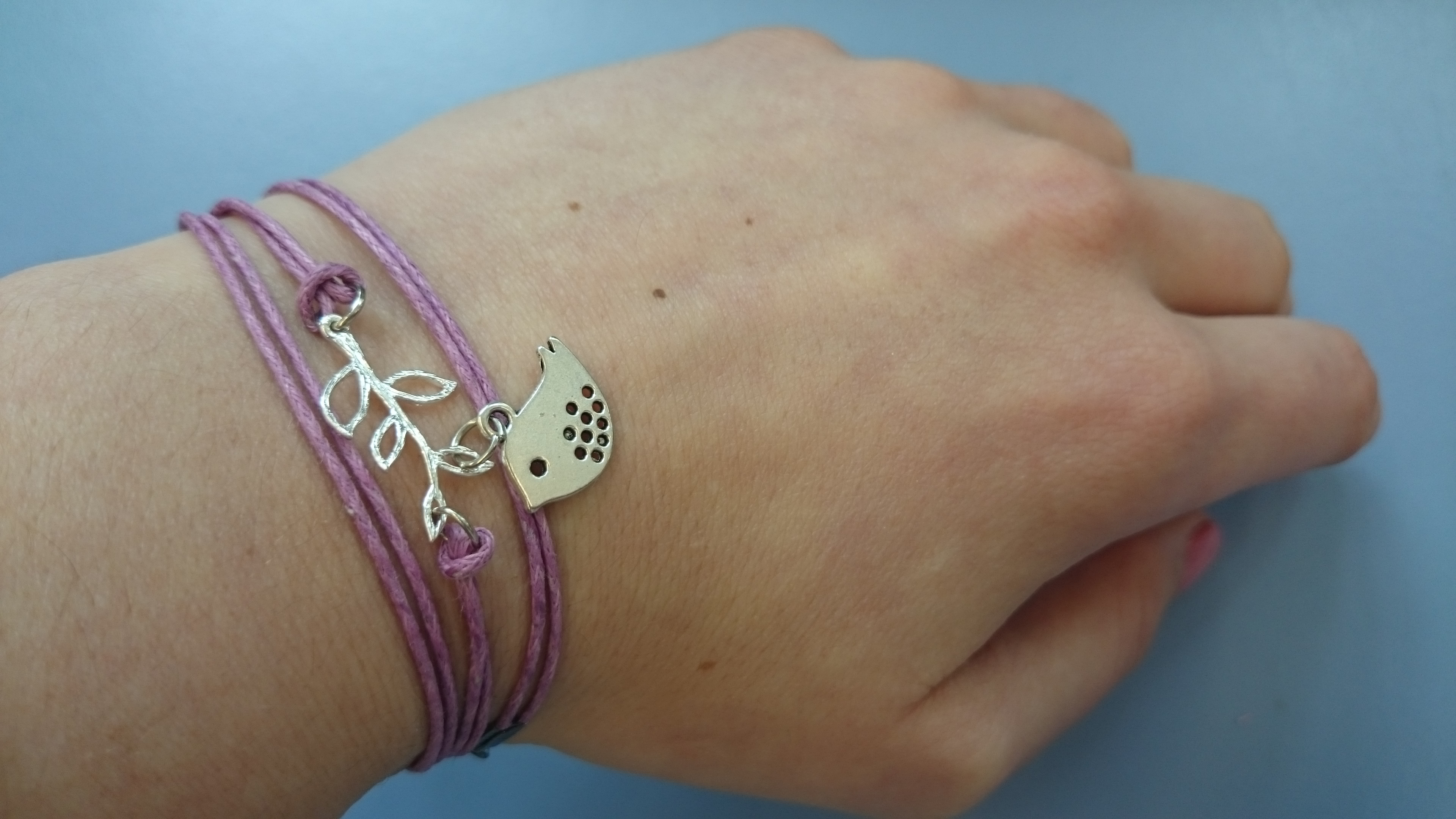 selbstgemachtes Armband