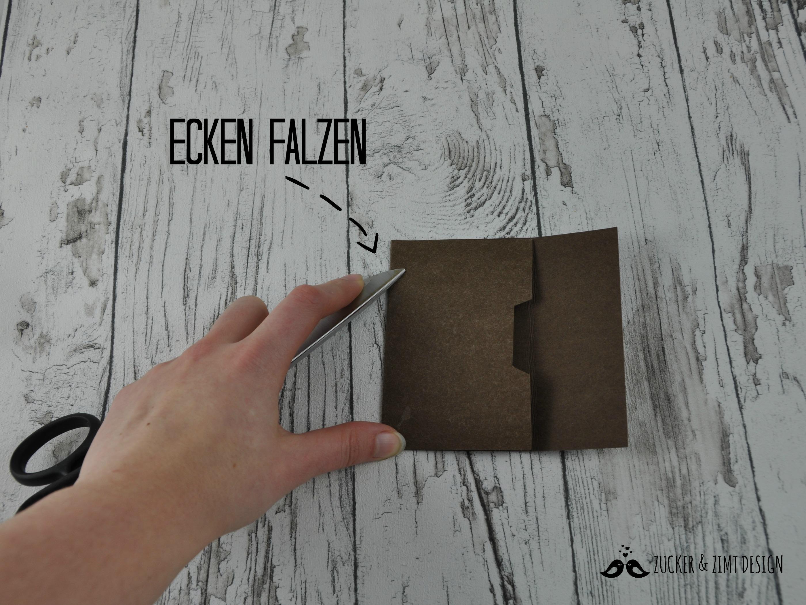 Geldbörse Easy Falzen