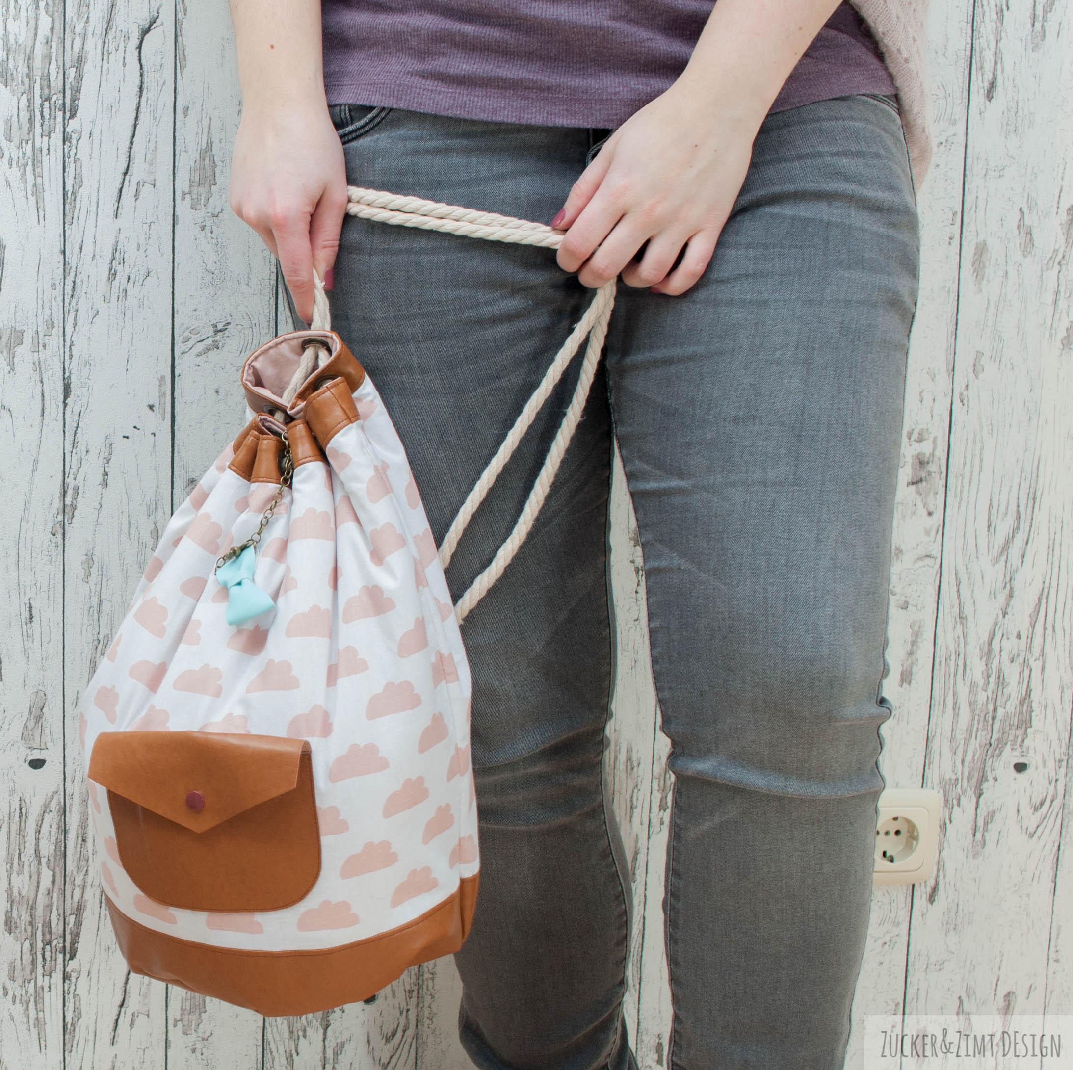 buchtipp ledertasche einfach selber n hen zucker und zimt design. Black Bedroom Furniture Sets. Home Design Ideas
