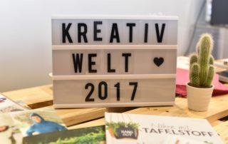 Kreativ Welt Messe Frankfurt 2017 DIY und Nähen