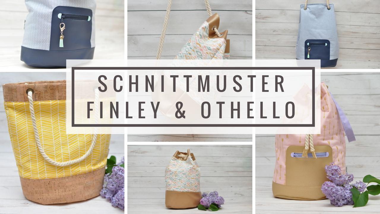 Nähanleitung Tasche Finley und Othello