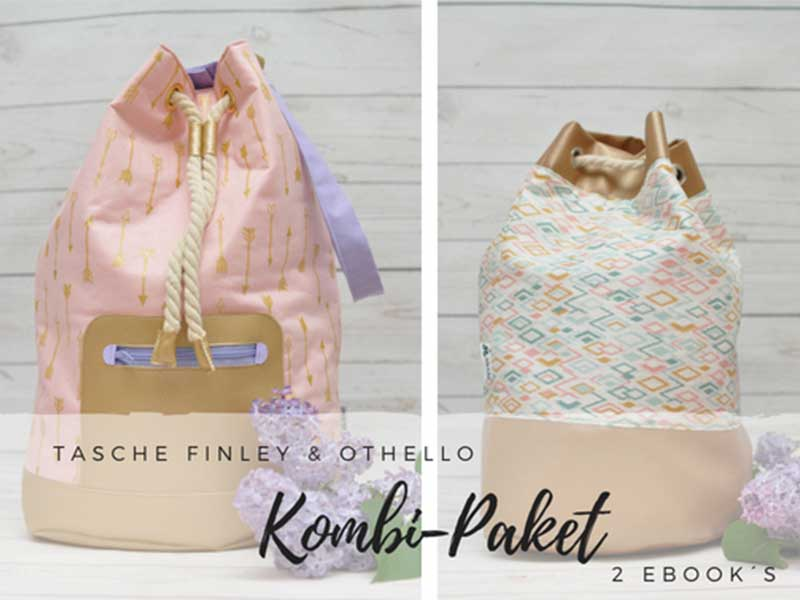 Kombi-Paket: Schnittmuster Tasche Othello & Finley [eBook] - Zucker ...