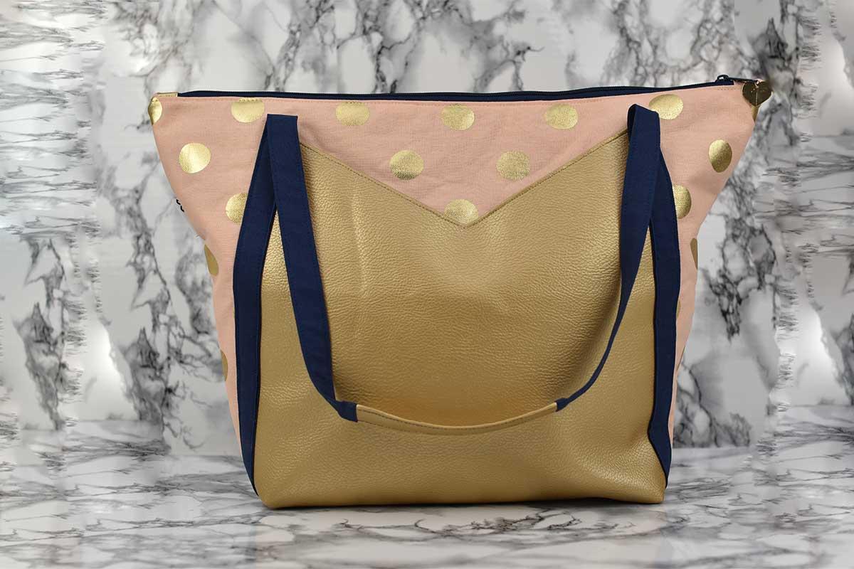 Schnittmuster und Nähanleitung Tasche Kira
