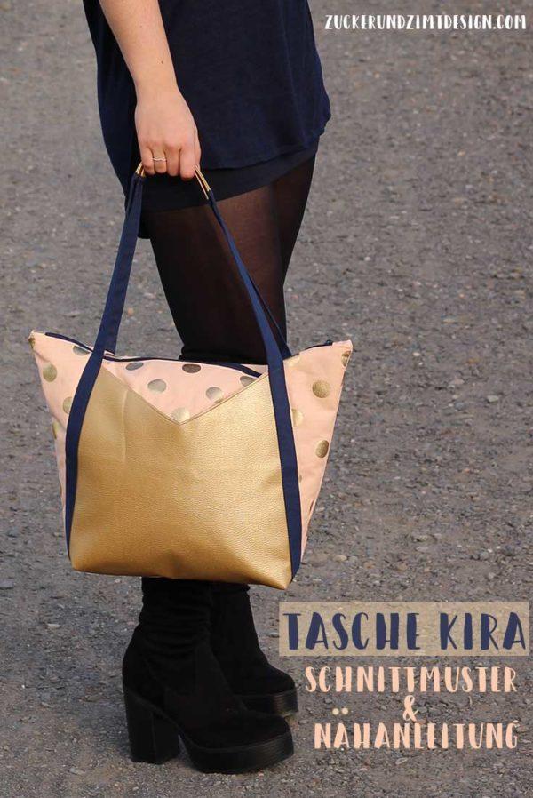 Schnittmuster Tasche Kira