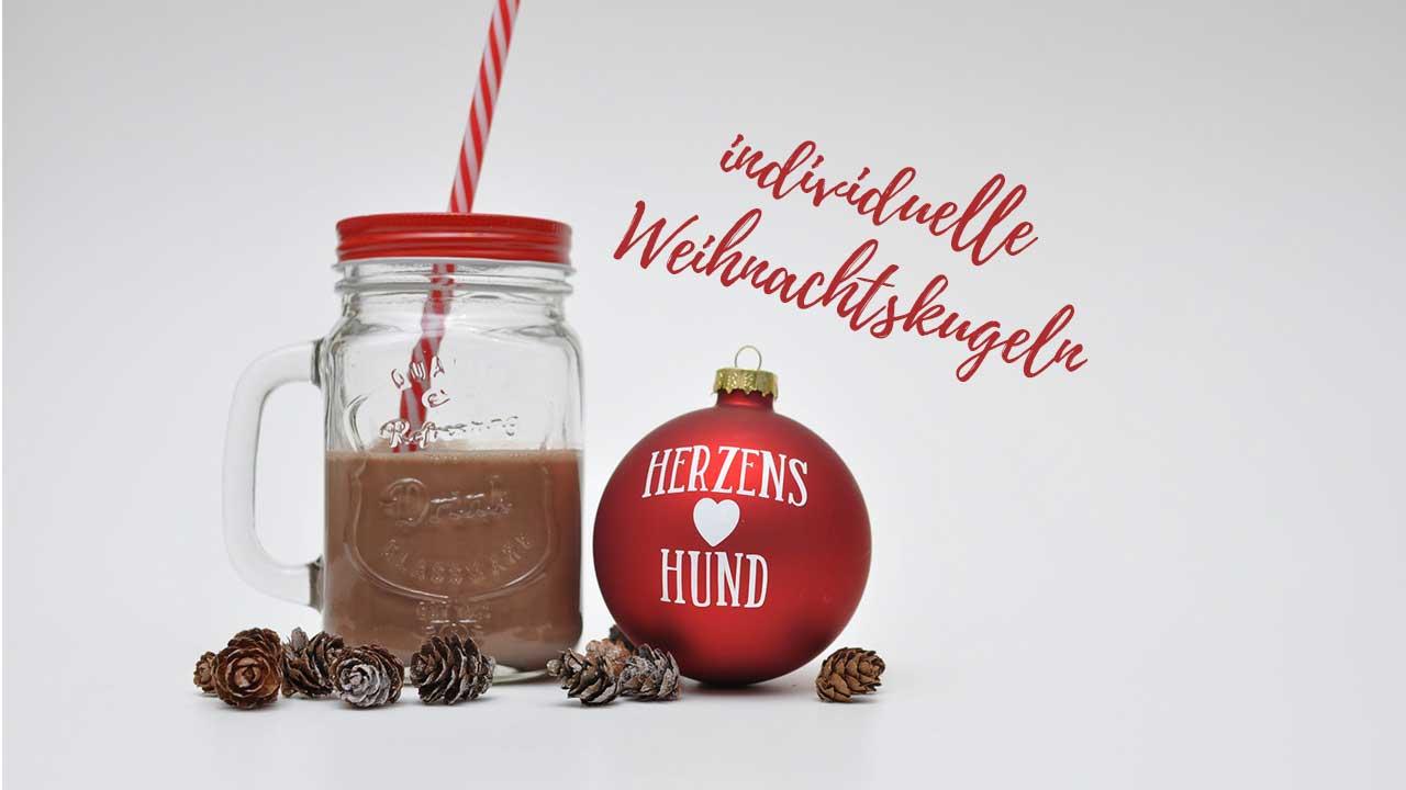 DIY-individuelle und personalisierte Weihnachtskugel basteln