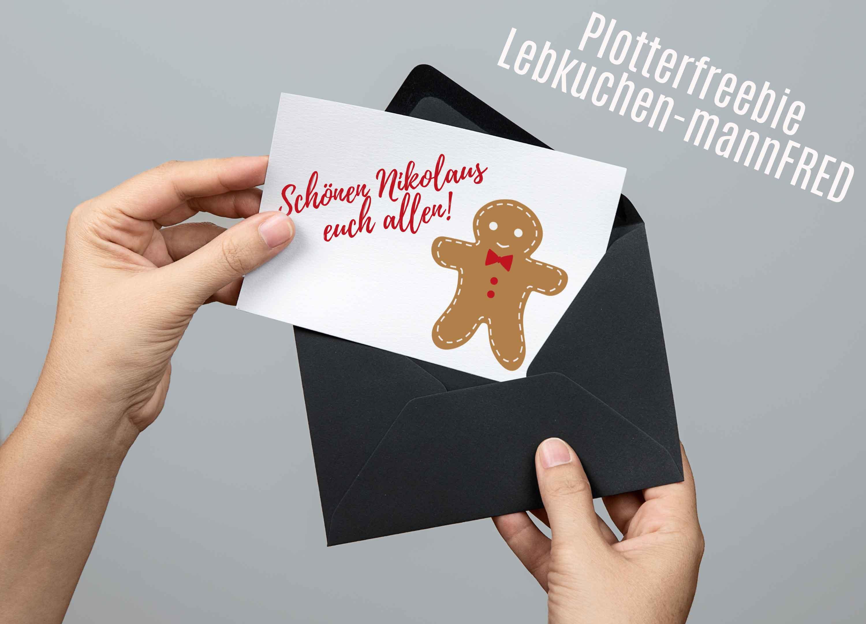 Plotter Freebie Lebkuchenmann