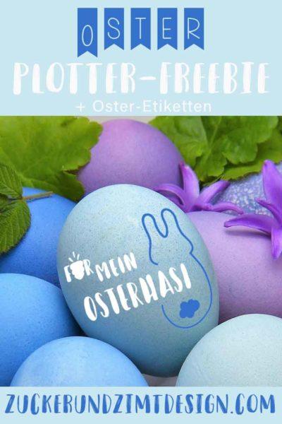 Kostenlose Plotterdatei und Anhaenger zum ausdrucken fuer Ostern