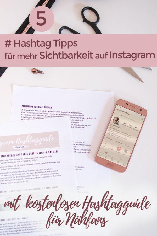 5 Hashtag Tipps für Instagram mit kostenloser Hashtagguide
