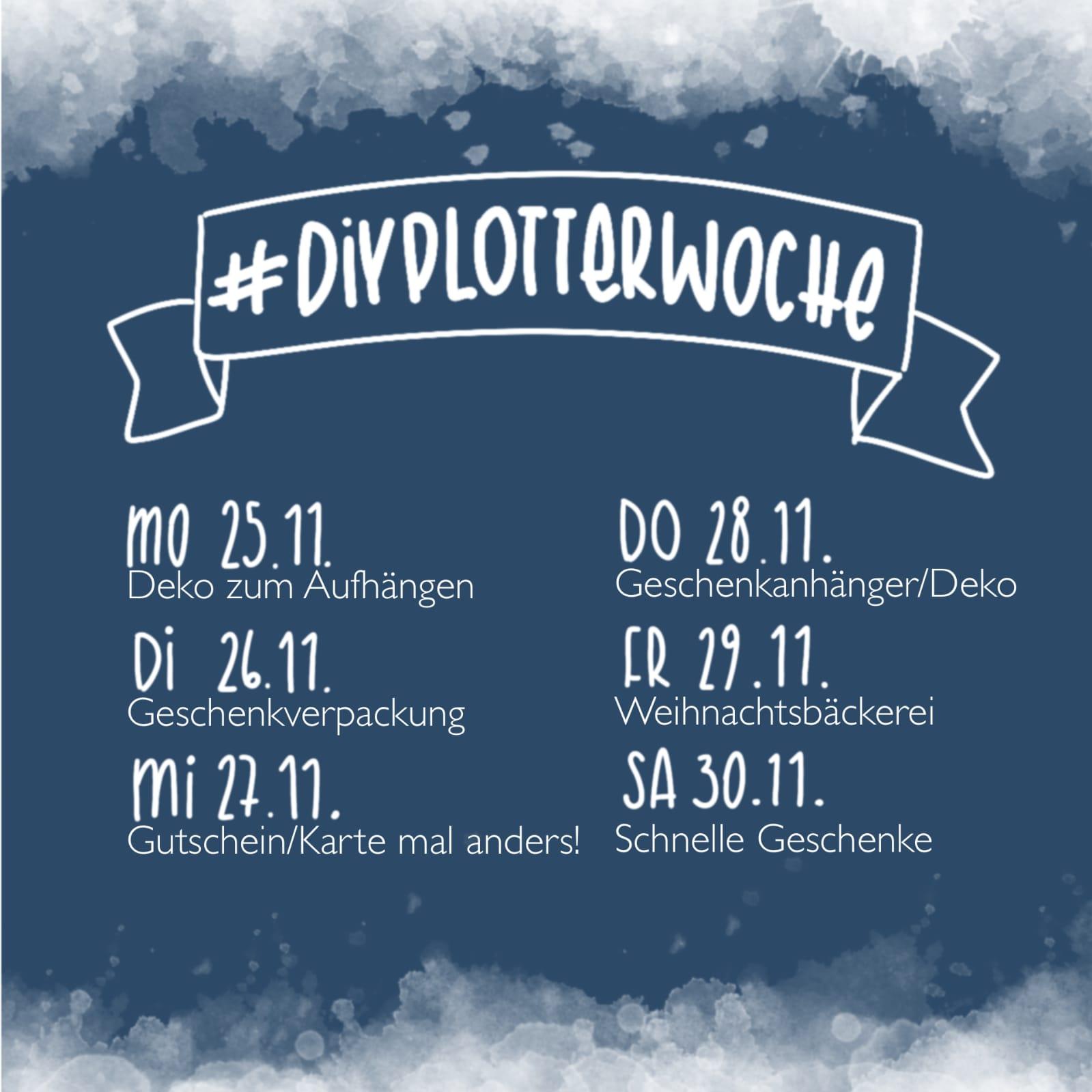 Instagram Challenge #diyplotterwoche