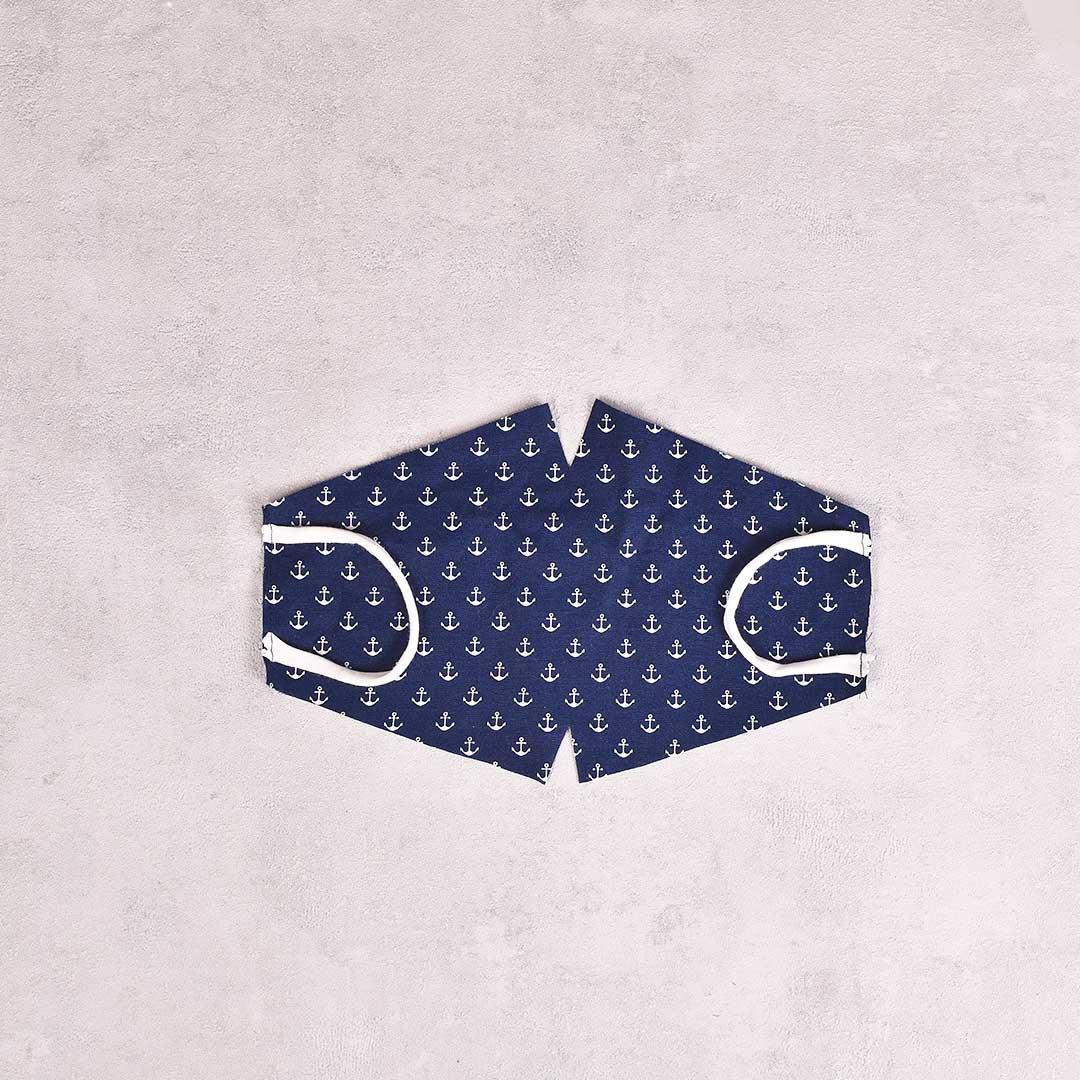 Kostenloses Schnittmuster Behelfsatemschutzmaske mit Video in 2 Varianten - zuckerundzimtdesign.com