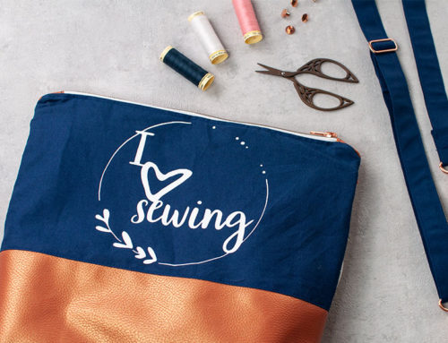 Plotterfreebie || I love sewing