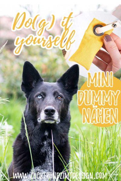 Mini Dummy fuer Hunde naehen mit kostenlosen Schnittmuster - Mammaly || www.zuckerundzimtdesign.com